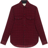 Gucci Wool check shirt
