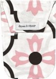 Diapees & Wipees Diapees and Wipees Waterproof Geo Flower Baby Diaper And Wipes Bag