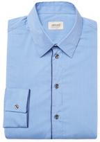 Armani Collezioni Checkered Dress Shirt