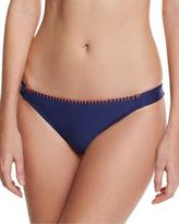 Splendid Stitch Tab-Side Swim Bottom, Navy