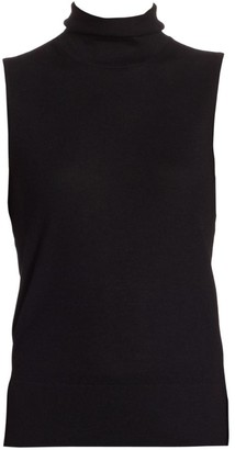 Saks Fifth Avenue COLLECTION Cashmere Turtleneck Shell
