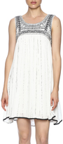 Freeway Embroidered Sleeveless Dress