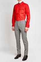 Calvin Klein Printed Wool Pants