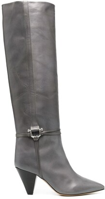 Etoile Isabel Marant Harness-Detail Boots