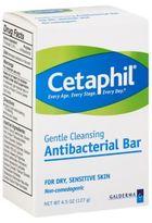 Cetaphil 4.5 oz Gentle Cleansing Antibacterial Bar