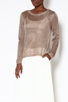 Somedays Lovin Metallic Knit Sweater