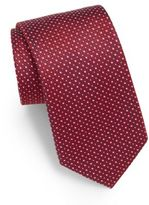 English Laundry Neat Textured Silk Tie