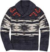 Arizona Shawl Collar Knit Sweater - Preschool