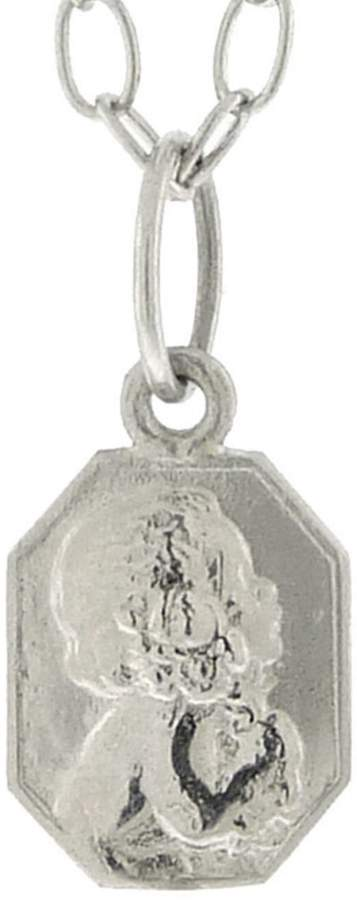 Cathy Waterman Classic Child Charm - Custom Engraved - Platinum