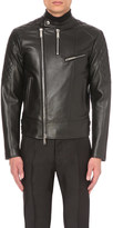 DSQUARED2 Quilted leather biker jacket