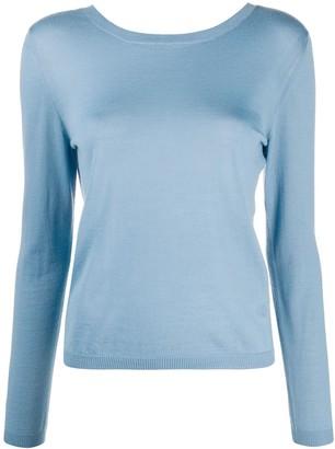 Gucci V-back cashmere jumper