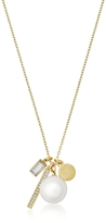 Michael Kors Brilliance Gold-tone Metal Charms Necklace