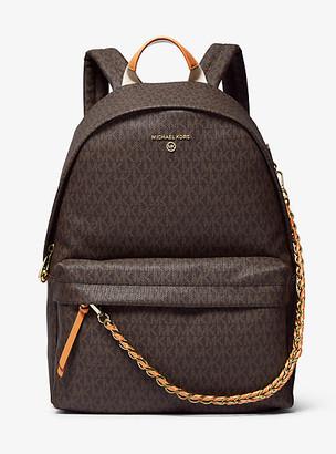 Michael Kors Slater Large Logo Backpack