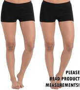 CurvyLuv.com Women's Plus Size Booty Shorts Cotton Comfortable Stretch Short Bottoms