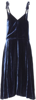 Golden Goose Tosca velvet dress
