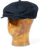 Ralph Lauren RRL Denim Newsboy Cap