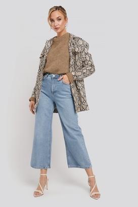 Trendyol High Waist Culotte Jeans