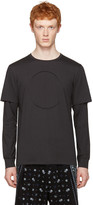 3.1 Phillip Lim Black No Logo Long Sleeve T-shirt