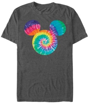 Fifth Sun Men's Mickey Tie Dye Fill Short Sleeve T-Shirt