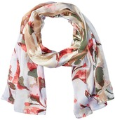Vince Camuto Foliage and Blooms Oblong Scarves