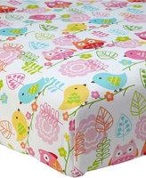 NoJo Love Birds Crib Sheet