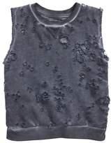 Nununu Distressed Mineral Wash Sweatshirt