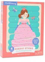Chronicle Books Mudpuppy Enchanting Princess Puzzle Sticks