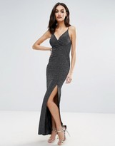 Lipsy Glitter Cami Maxi Dress