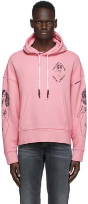 Palm Angels Pink Exotic Club Hoodie