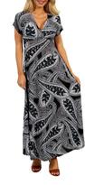 24/7 Comfort Apparel Passion Maxi Dress