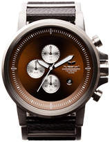 Vestal Plexi Leather Watch
