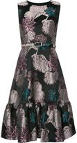 Co floral jacquard dress
