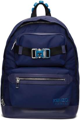 Kenzo Blue Link Backpack
