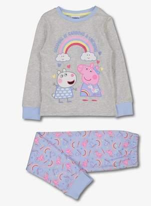Peppa Pig Tu Grey Pyjamas