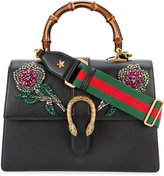 Gucci large Dionysus embellished bag - women - Cotton/Leather/glass - One Size