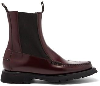 Hereu Alda Sport Leather Boots - Burgundy