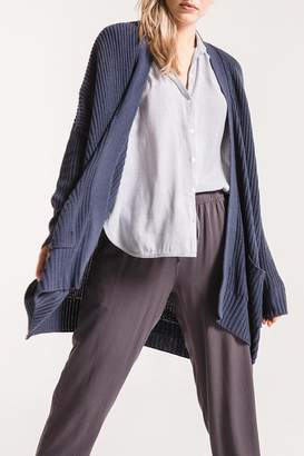 Rag Poets Oversized Open Cardigan