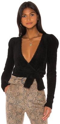 Majorelle Coco Wrap Sweater