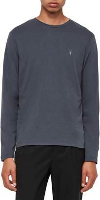 AllSaints Brace Long Sleeve Crewneck T-Shirt