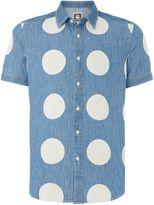 G-star Landoh Dotted Classic Fit Short Sleeve Shirt