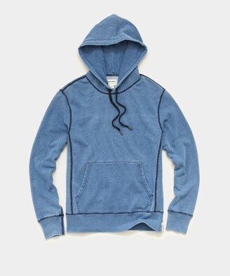 Todd Snyder Issued By: Popover Hoodie in Light Indigo