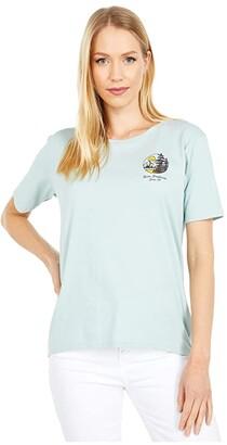 Burton Ashmore Short Sleeve Scoop T-Shirt (Gray Heather) Women's Clothing
