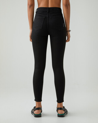 Neuw Women's Black Straight - Marilyn Skinny - Size One Size, W26/L30 at The Iconic