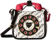 Betsey Johnson Calling All Girlfriends Mini Phone Crossbody Cell Phone Case