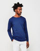 Armor Lux Lightweight Long Sleeve T-Shirt Blue & Navy