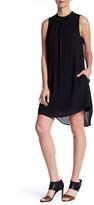 Daniel Rainn Mock Neck Sleeveless Dress