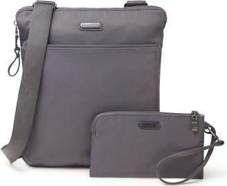 Baggallini Tribeca Crossbody Handbag and Wristlet