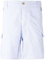 Ermanno Scervino striped pocket shorts - men - Cotton - 48