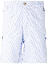Ermanno Scervino striped pocket shorts