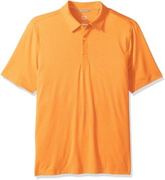 Cutter & Buck Men's Moisture Wicking Drytec 50+ UPF Samish Stripe Polo Shirt